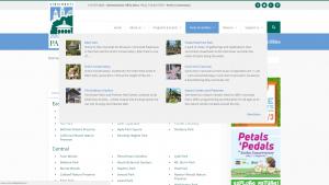 Screenshot of CP's advanced menus