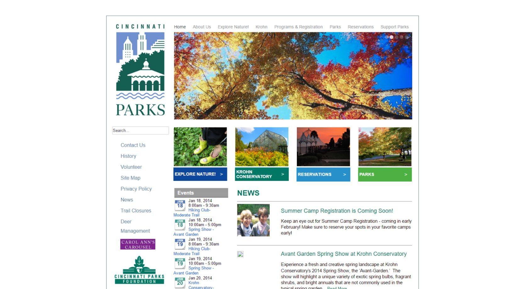 Cincinnati Parks Before Design 2