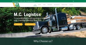 MC Logistics Website Screencap