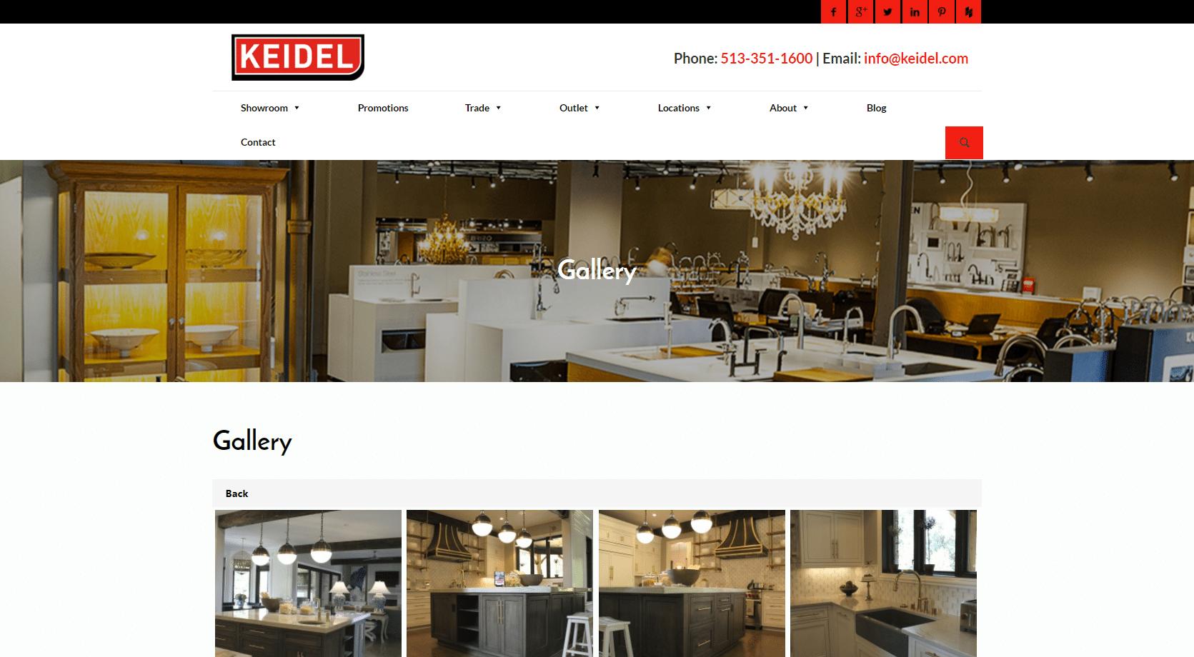 Keidel new website screencap