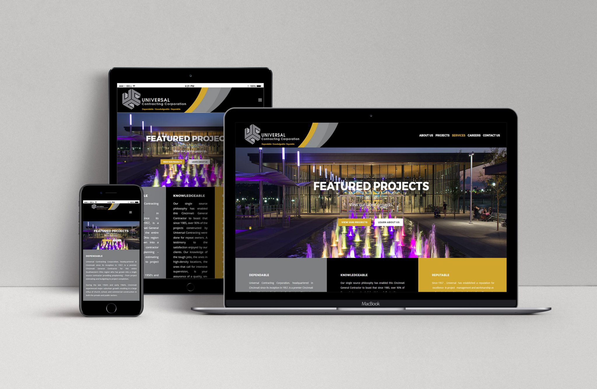 UCC website redesign