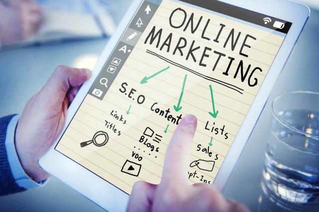 iPad Online Marketing