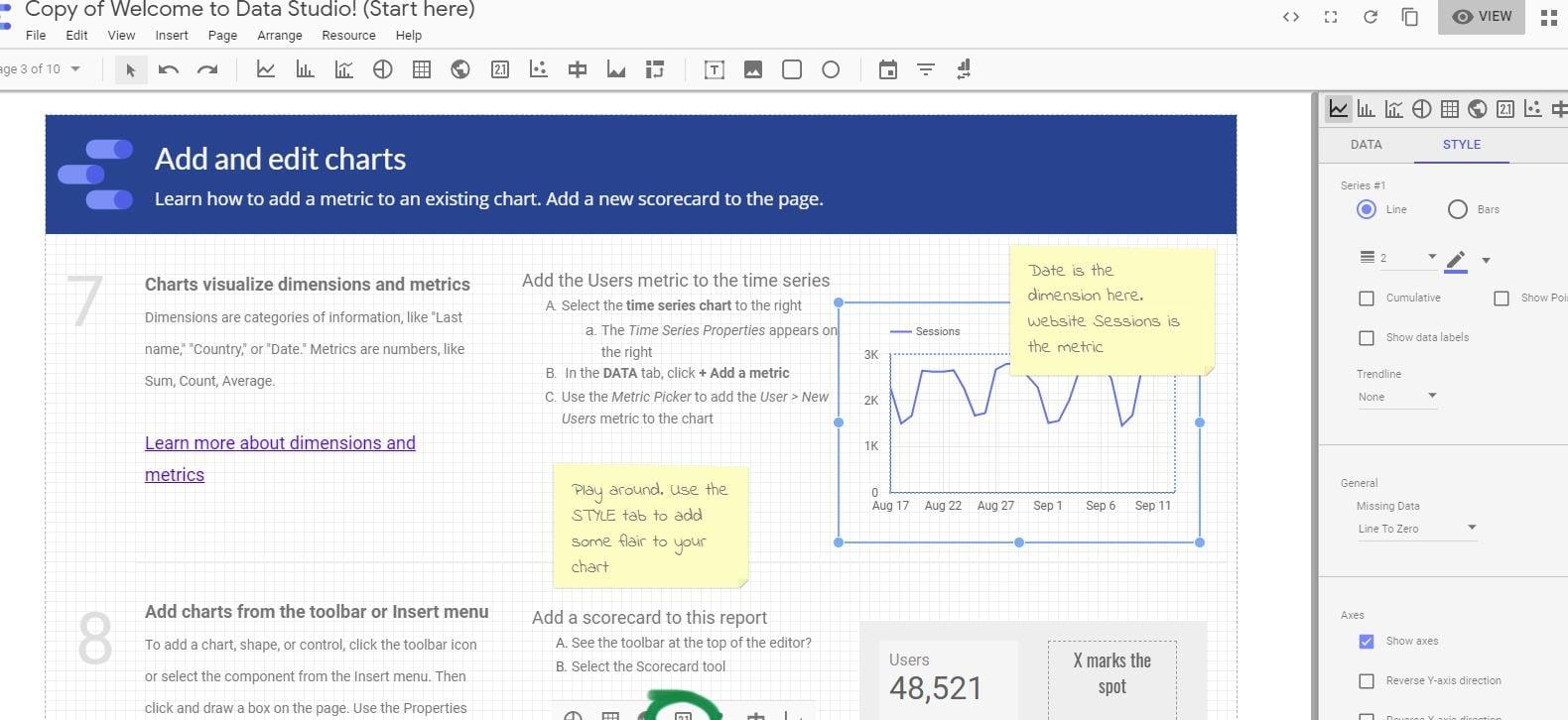 Data Studio Tutorial