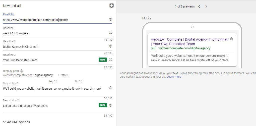 Google Ads-Ad Builder ScreenCap