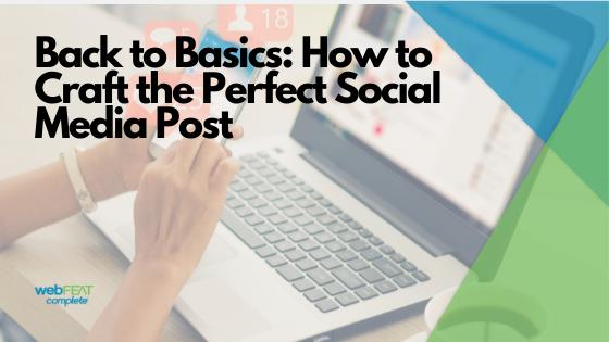 Back to Basics Social Posting Header