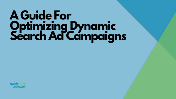 Optimizing Dynamic Ad Campaigns Blog Header