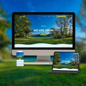 Bass Lake Website Design
