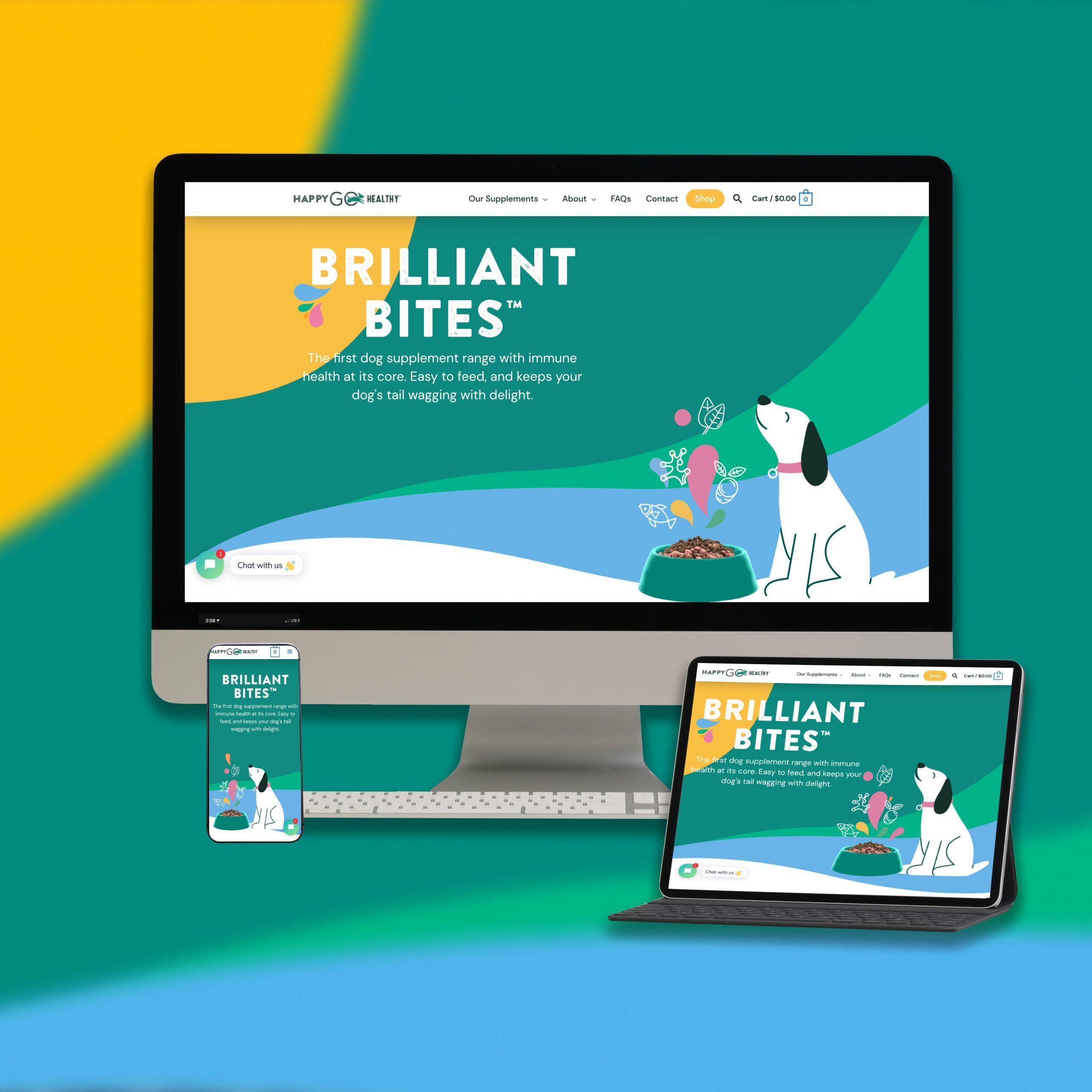 Happy Go Healthy Site Design