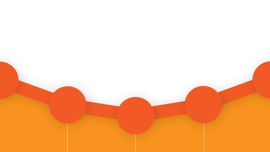 Google-Analytics Graph points