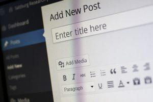 WordPress Add a New Post