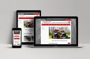 Axiom Side By Side website design