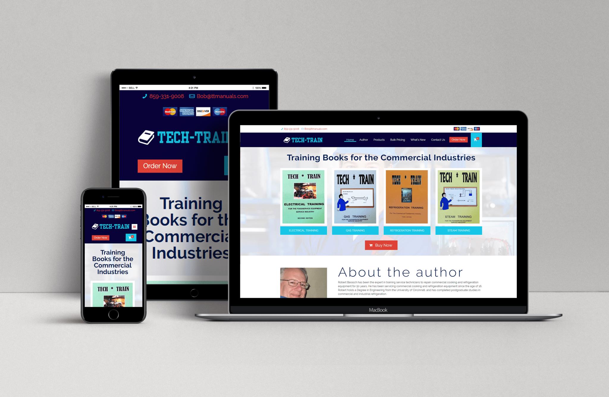 Tech Train Website
