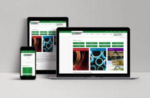 portfolio item showcasing the Wiseway site on a Mac, iPhone, and iPad