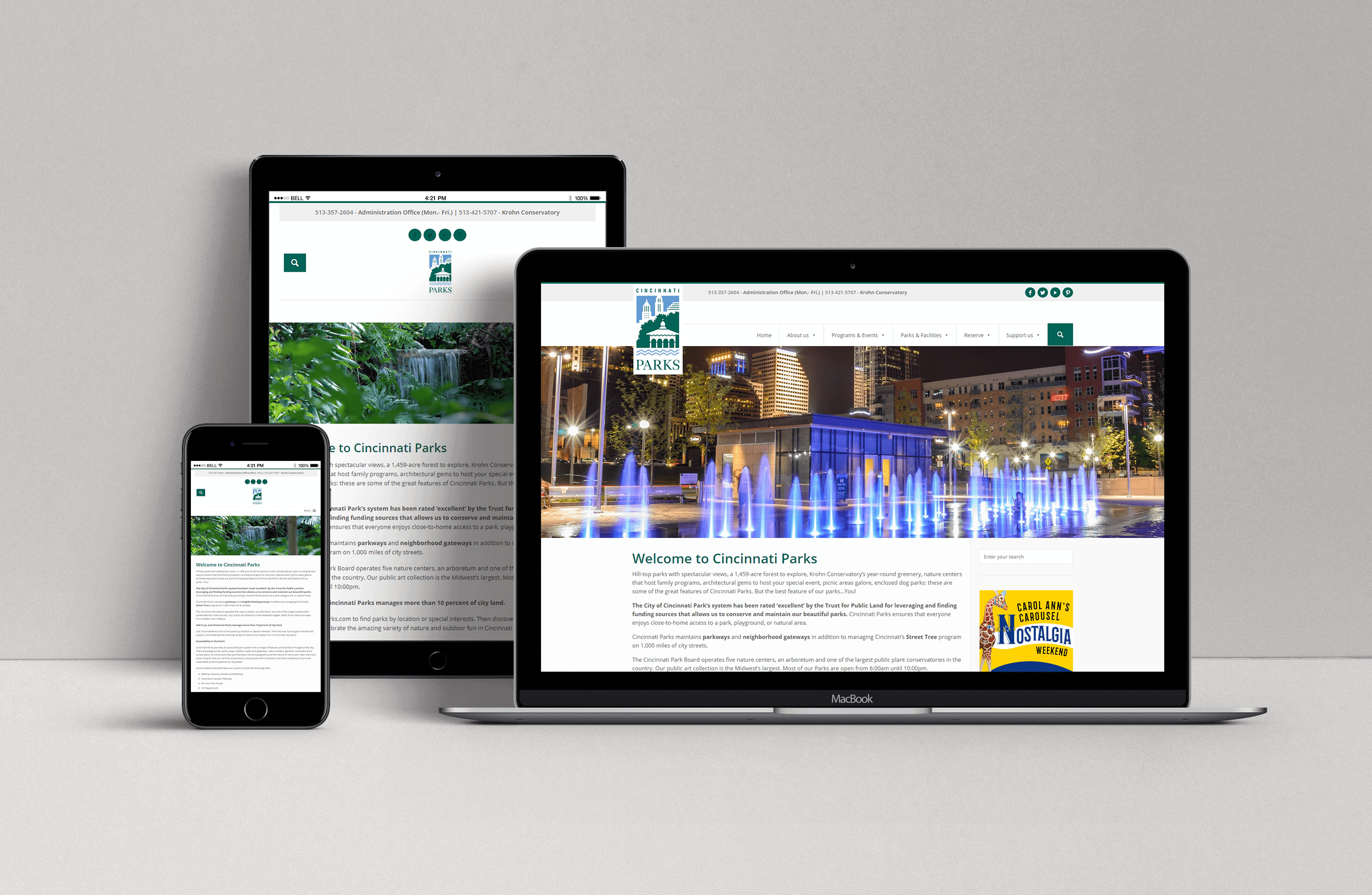 Mobile Tablet Desktop Friendly New Website