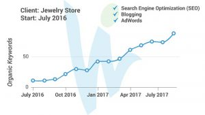 Search Visibility Improvement with SEO Example