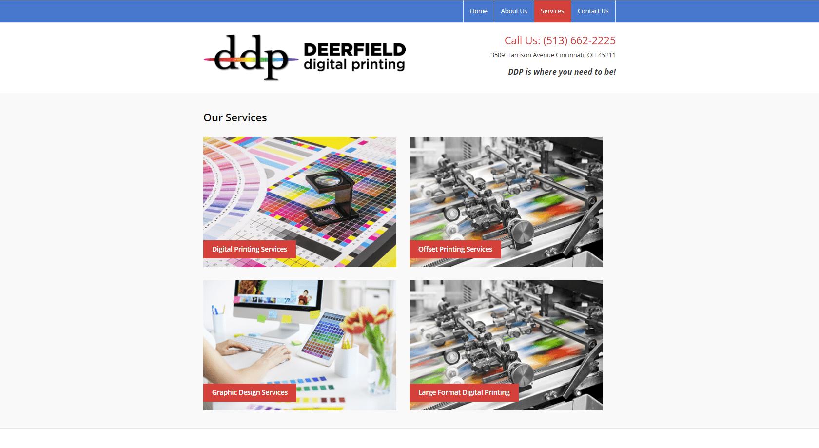 Deerfield services