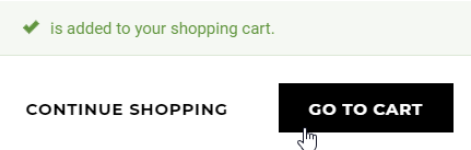 Add to Cart User-Experience Example