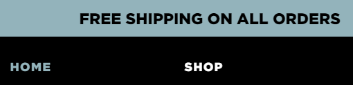 Free Shipping Website Example