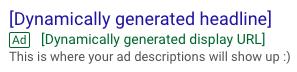 dynamic ad description