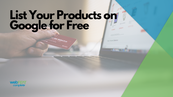 List Your Products on Google for Free