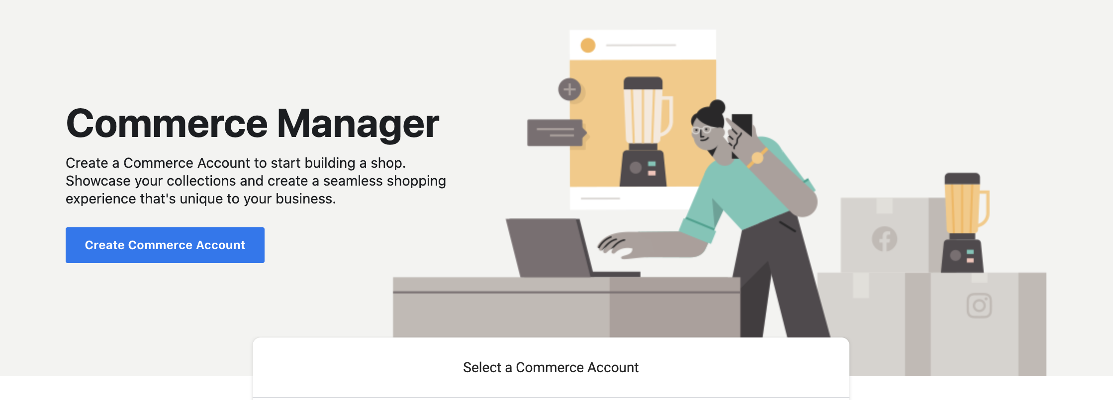 Facebook Commerce Manager Business Manager
