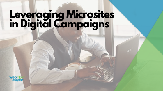 Leveraging Microsites in Digital Campaigns