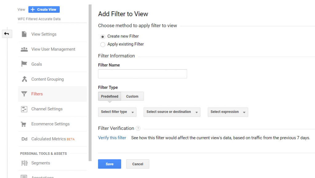 Filtering IPs in GA