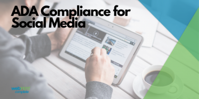 ADA Compliance for Social Media