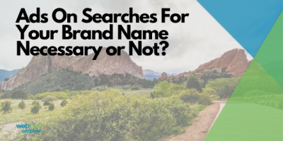 Ads On Searches For Your Brand Name-Necessary or Not?