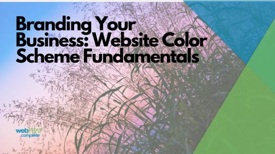 Branding Your Business: Website Color Scheme Fundamentals