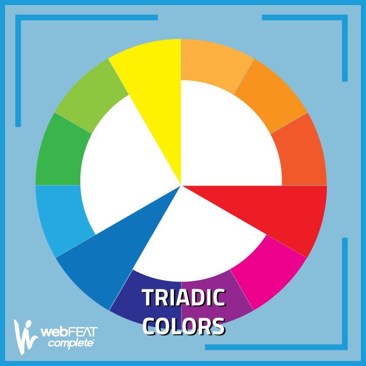 The Color Wheel - Triadic Colors