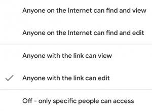 google data studio sharing settings