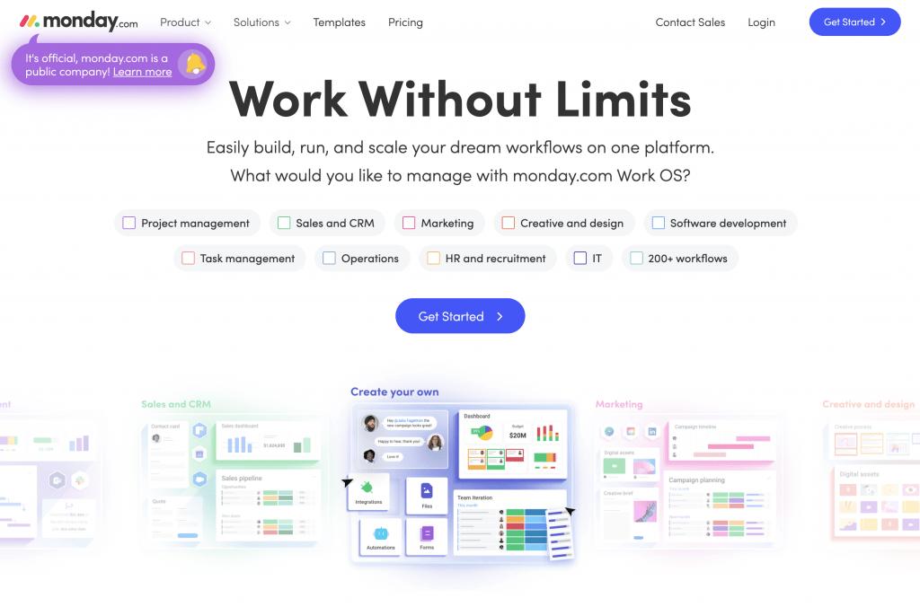 Minimalistic Website Design Trend Example
