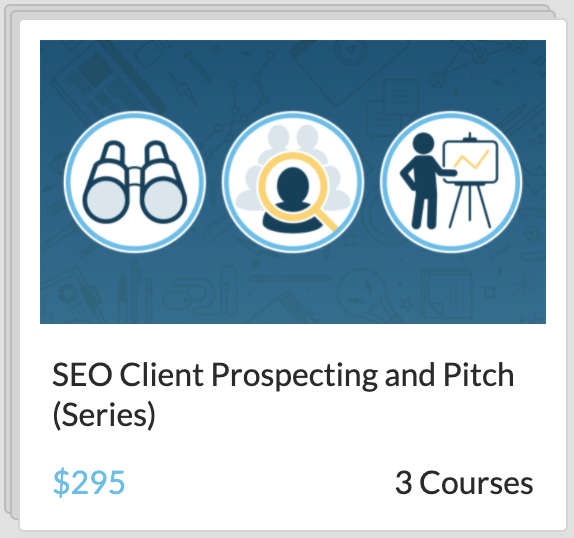 Digital Marketing Educational Resource Moz Academy SEO Client Prospecting and Pitch