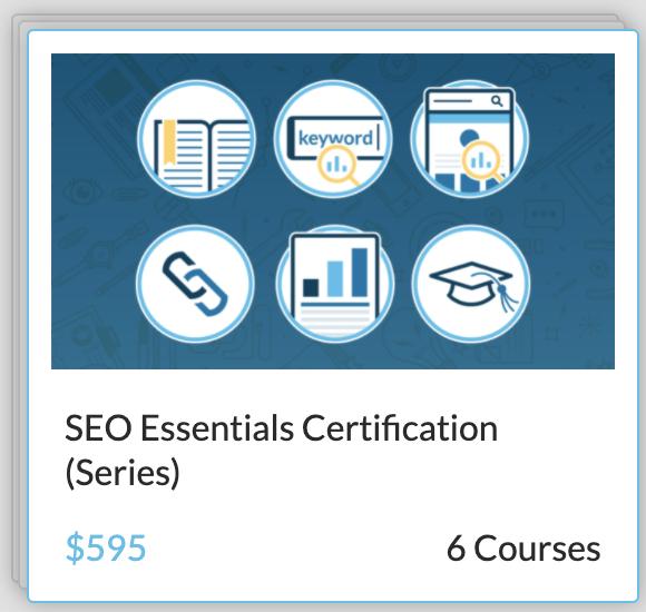 Digital Marketing Educational Resource Moz Academy SEO Essentials