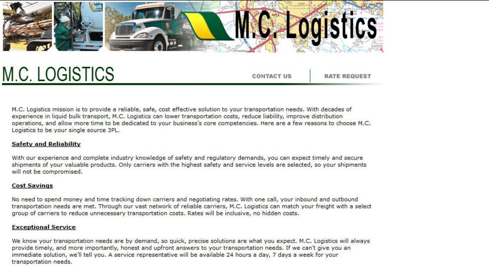 mc logistics before